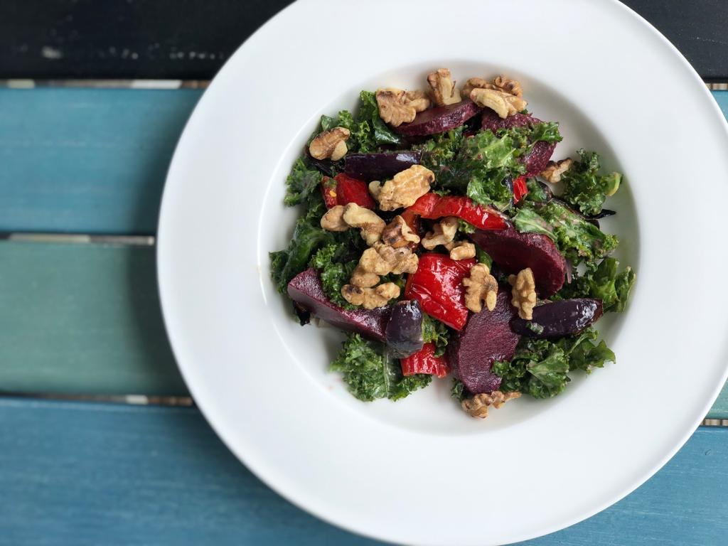 Recipe – Calming Kale & Blissful Beetroot Salad