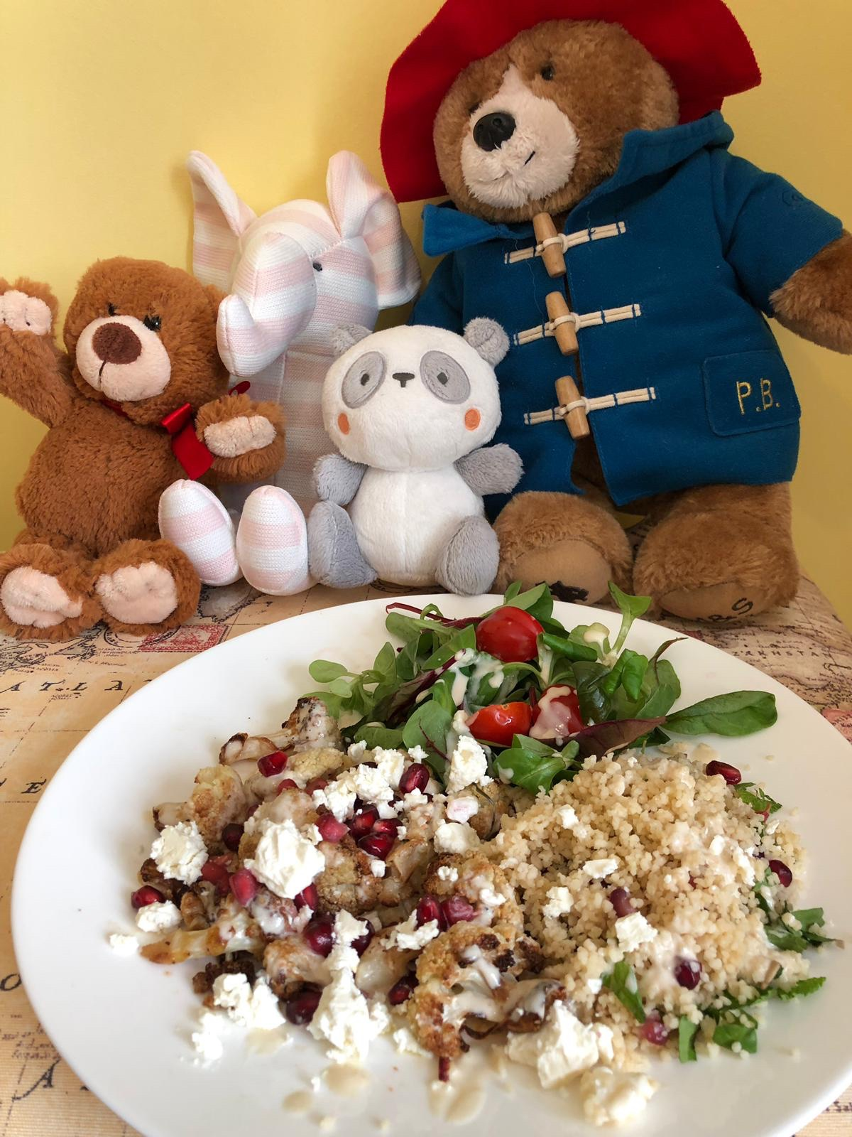 Recipe – Grown Up Teddy Bear's Picnic Cauliflower Salad