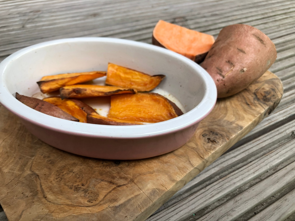 Recipe – Oh So Easy Sweet Potato Wedges