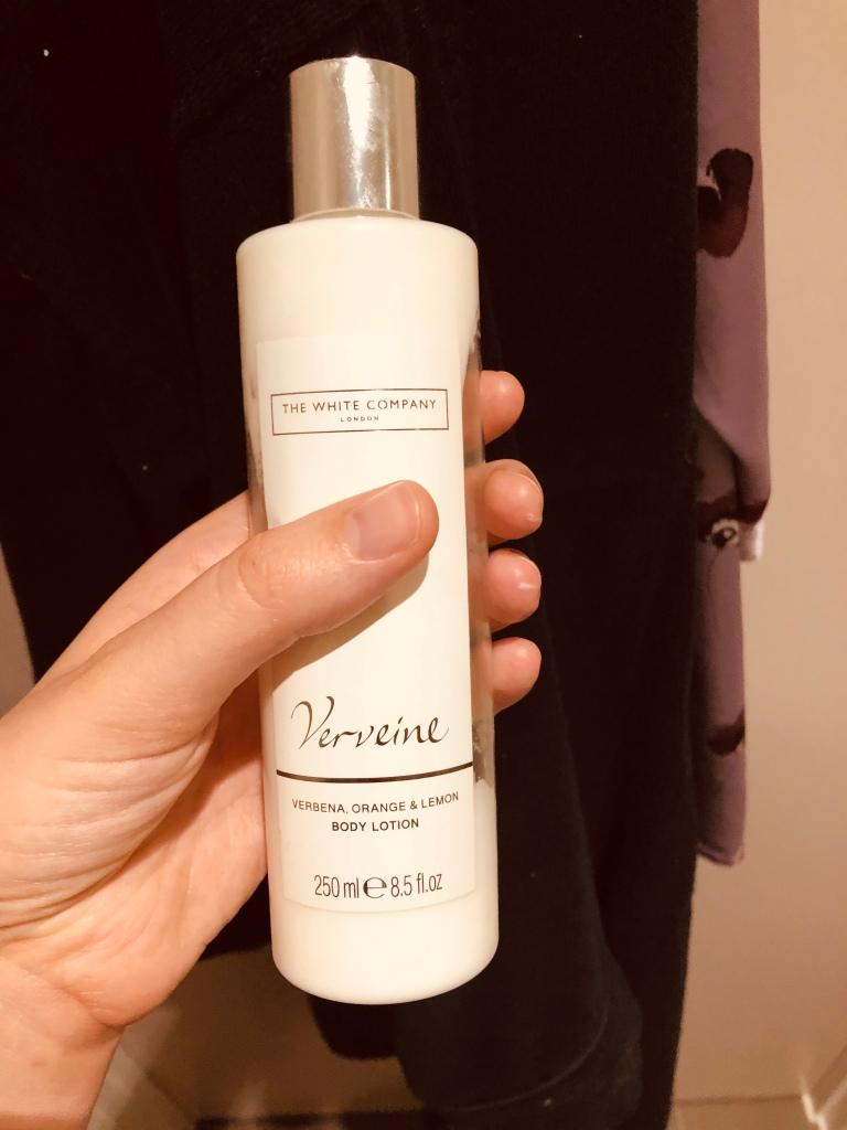 Delicious smelling moisturiser